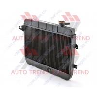 Радиатор ВАЗ 2101-02, мед., основной, 2х рядный