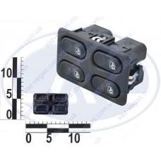 Блок кнопок стеклоподъемника ВАЗ 2110-12, 4 кн.