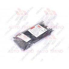 Хомут пластиковый 150х4,0мм черный (100 шт.) уп.