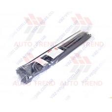 Хомут пластиковый 400х5,0 мм черный (100 шт.) уп.