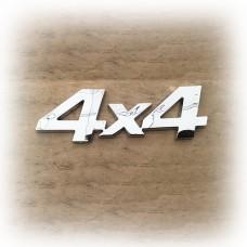 """Орнамент на ВАЗ 2121 боковой """"4х4"""" хром"""