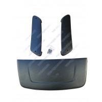 Воздухозаборник Урбан с накладками (гладкие)