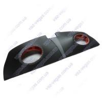 Полка акустическая ВАЗ 2190 пирамида на фанере черная