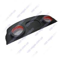 Полка акустическа ВАЗ 1118 стандарт подиум на фанере черная