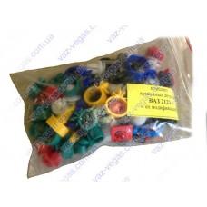 Комплект крепежа на ВАЗ 2121 пластикового