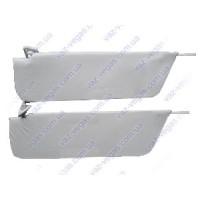 Козырьки ВАЗ 2101 противосолнечные белые