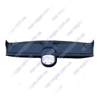 Накладка травмбезопасности ВАЗ 21214 с подсветкой черная