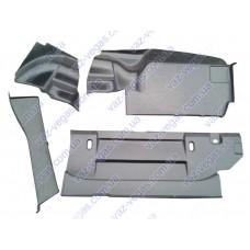 Обивка багажника на ВАЗ 2106 пластиковая