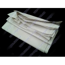Белая обшивка потолка ВАЗ 2104