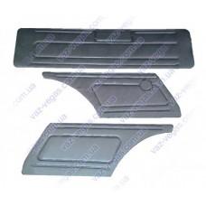 Обивка задка на ВАЗ 2102 (кожа)