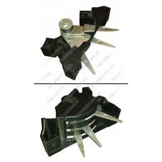 Трехрычажник управления печки ВАЗ 2105