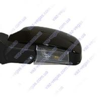 Зеркала ВАЗ 2108,09,2113-15 черные с поворотником ЗБ